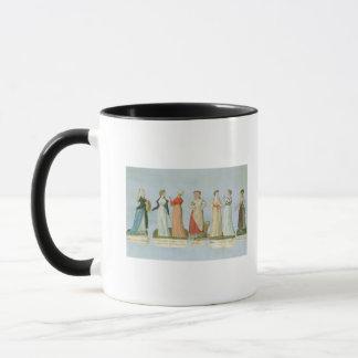 Robes et costumes dans la mode mug