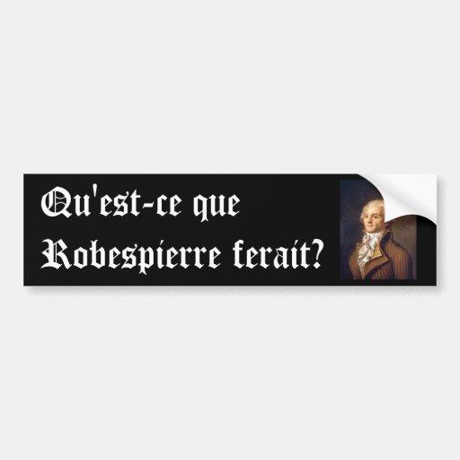 Robespierre (légende française) adhésifs pour voiture