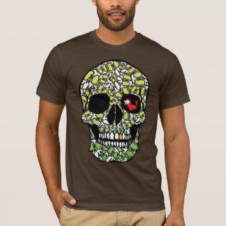 Robin avec le crâne (verts) t-shirt