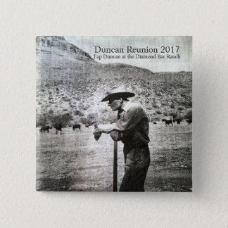 Robinet carré Duncan de bouton de la Réunion 2017 Badges