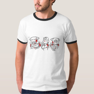 ROBO-TEC : mauvais chat : 3 T-shirt