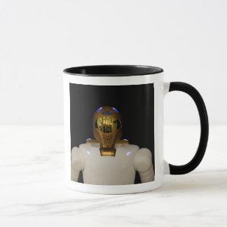 Robonaut 2, un adroit, hel d'astronaute de tasses