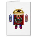 Robot ANDROÏDE Cartes De Vœux