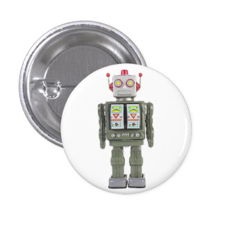 Robot de jouet badge