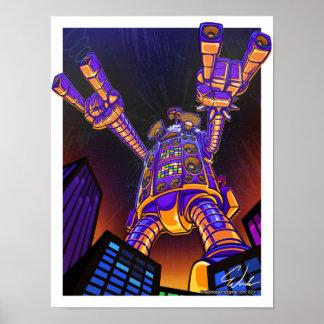 Robot de n de roche poster