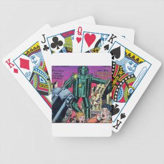 Robot de saccage jeu de cartes