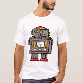 Robot étonné observé par 3 t-shirt