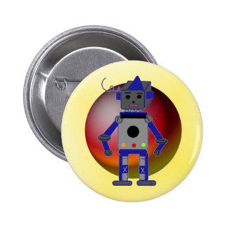 Robot frais badge rond 5 cm