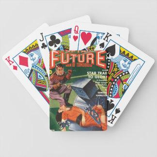 Robot grincheux jeux de cartes