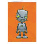 Robot idiot cartes de vœux
