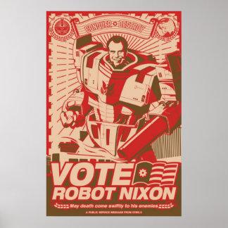 Robot Nixon - tout robot Nixon de grêle Affiches