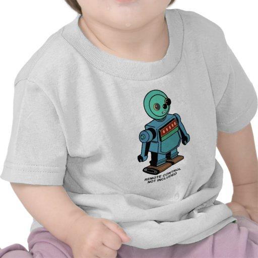 Robot non inclus à télécommande t-shirts