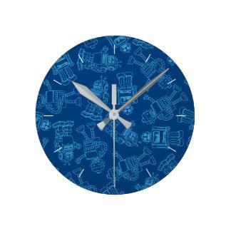 Robots Horloge Ronde