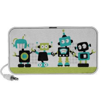 Robots - vert haut-parleurs iPhone