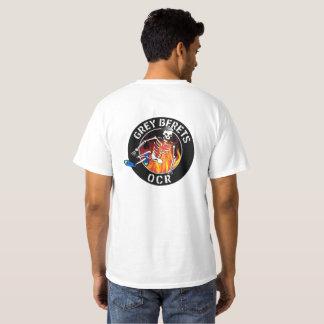 ROC grise T de base de bérets T-shirt