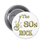 ROCHE 80s Badge Avec Épingle