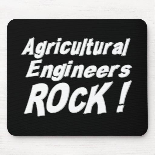 Roche agricole d'ingénieurs ! Mousepad Tapis De Souris