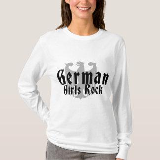 Roche allemande de filles t-shirt