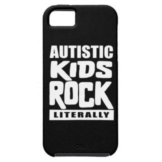 Roche autiste d'enfants de sensibilisation sur coques Case-Mate iPhone 5