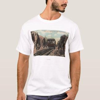 Roche coupée sur Mt. Tom T-shirt