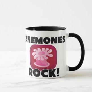 Roche d'anémones mug