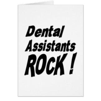 Roche d'assistants dentaires ! Carte de voeux