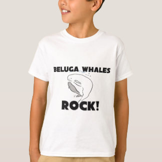Roche de baleines de beluga t-shirt