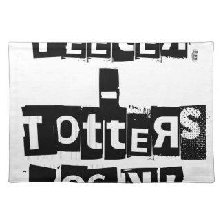 Roche de Bascule-Totters Sets De Table