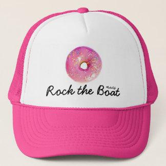 Roche de beignet le casquette de bateau