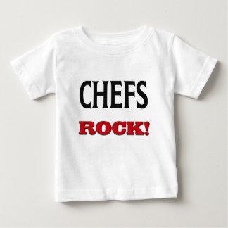 Roche de chefs t-shirt pour bébé