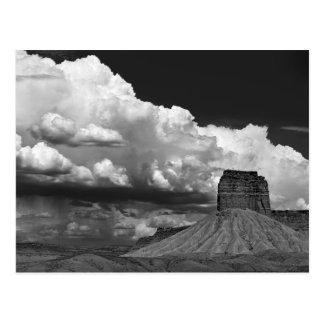 Roche de cheminée de l'itinéraire 666 carte postale