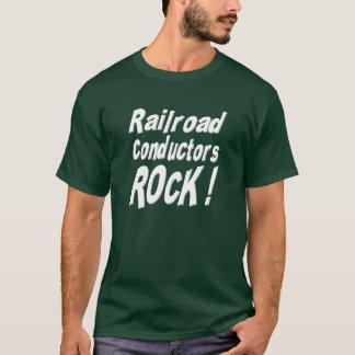 Roche de conducteurs de chemin de fer ! T-shirt