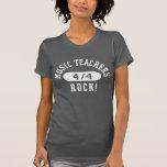 Roche de professeurs de musique t-shirts