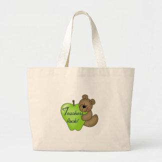 Roche de professeurs d'ours de nounours grand sac