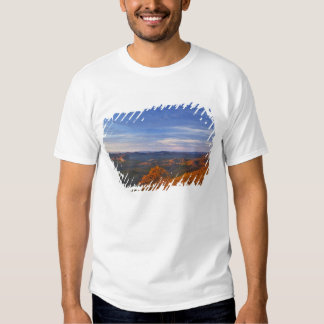 Roche de psyché au lever de soleil dans le Pisgah T-shirts