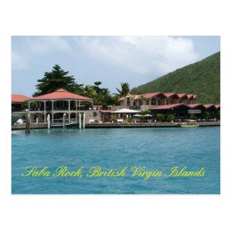 Roche de Saba Carte Postale