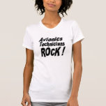 Roche de techniciens de l'avionique ! T-shirt