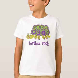 Roche de tortues [personnalisez] t-shirt