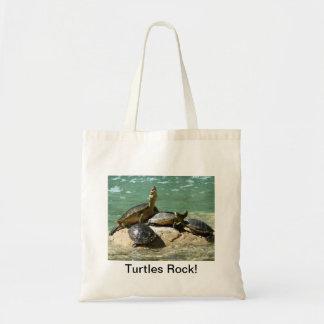 Roche de tortues ! sac fourre-tout