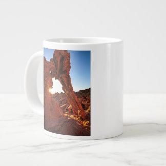 Roche d'éléphant dans la vallée du feu mug