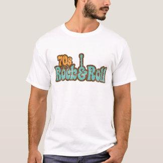 roche des années 1970 et T-shirt de petit pain