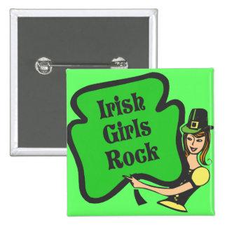 Roche irlandaise de filles badges