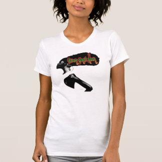 Roche noire de filles t-shirts