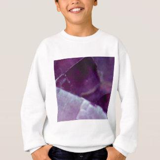 roche pourpre de fente sweatshirt