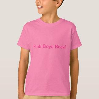 Roche rose de garçons ! t-shirt