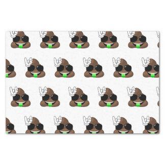 Roche sur la dunette d'Emoji Papier Mousseline