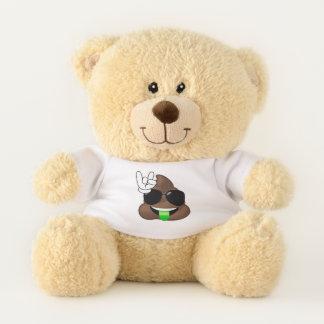 Roche sur l'ours de nounours d'Emoji de dunette