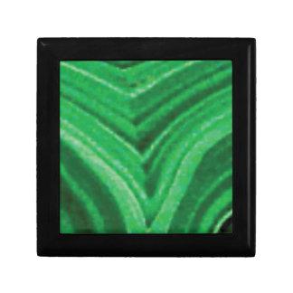 roche verte de cale boîte à souvenirs