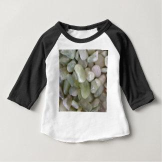 roches blanches de suffisance t-shirt pour bébé