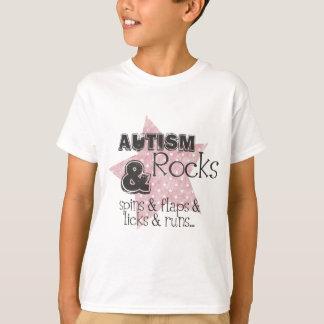 roches d'autisme t-shirt